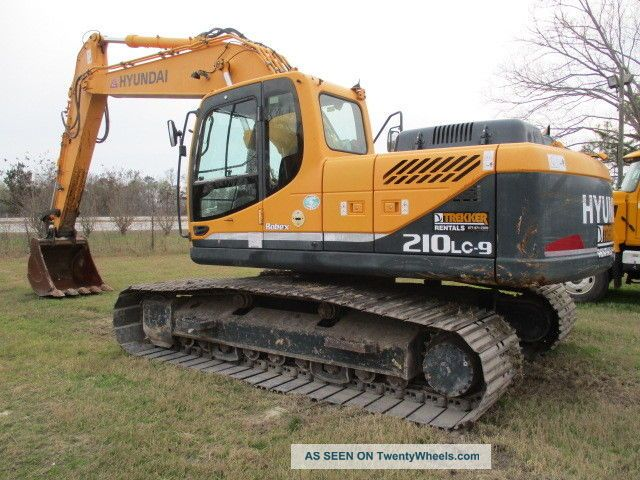 2012 Hyundai 210lc - 9 Hyd Excavator Excavators photo