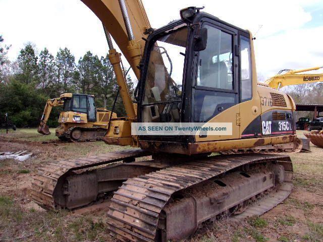 2007 Caterpillar 315cl Hydraulic Excavator Excavators photo