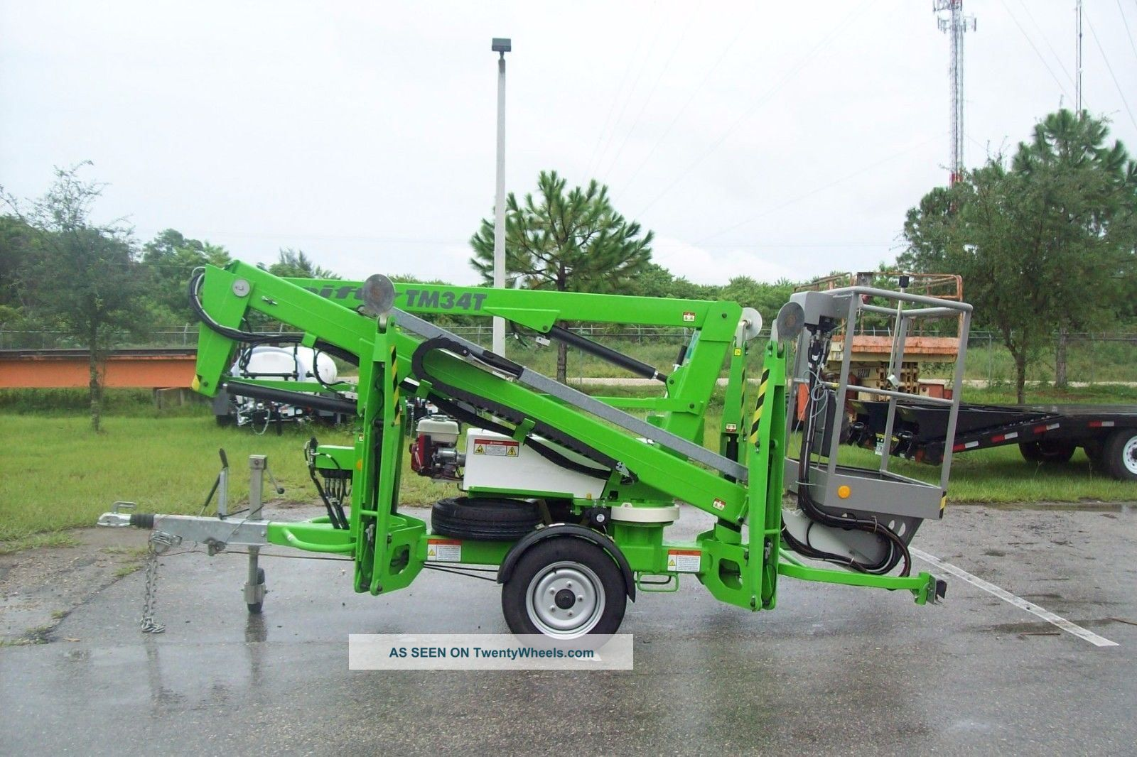Battery Bucket Lift : Nifty tm t boom lift hydraulic outriggers