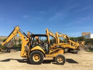 2007 Caterpillar Cat 420e 4wd Backhoe Loader; 4056 Hrs photo
