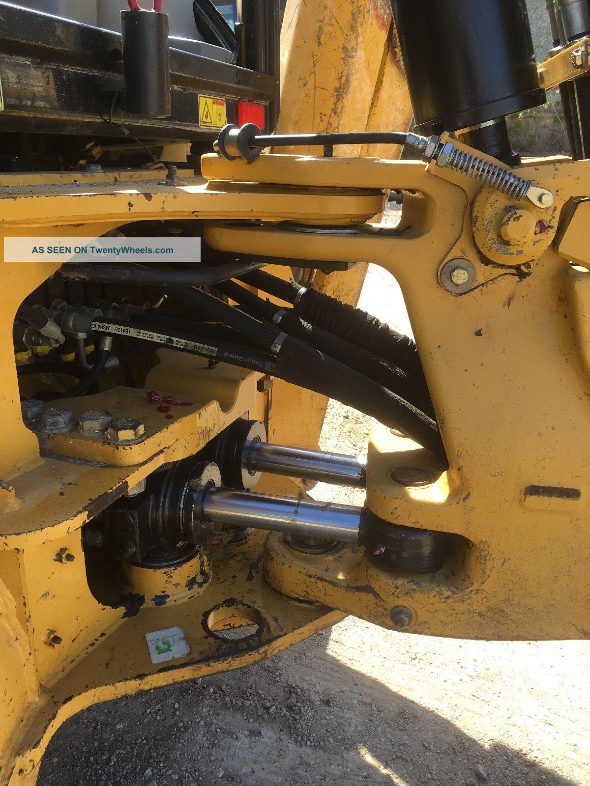 2007 Caterpillar Cat 420e 4wd Backhoe Loader