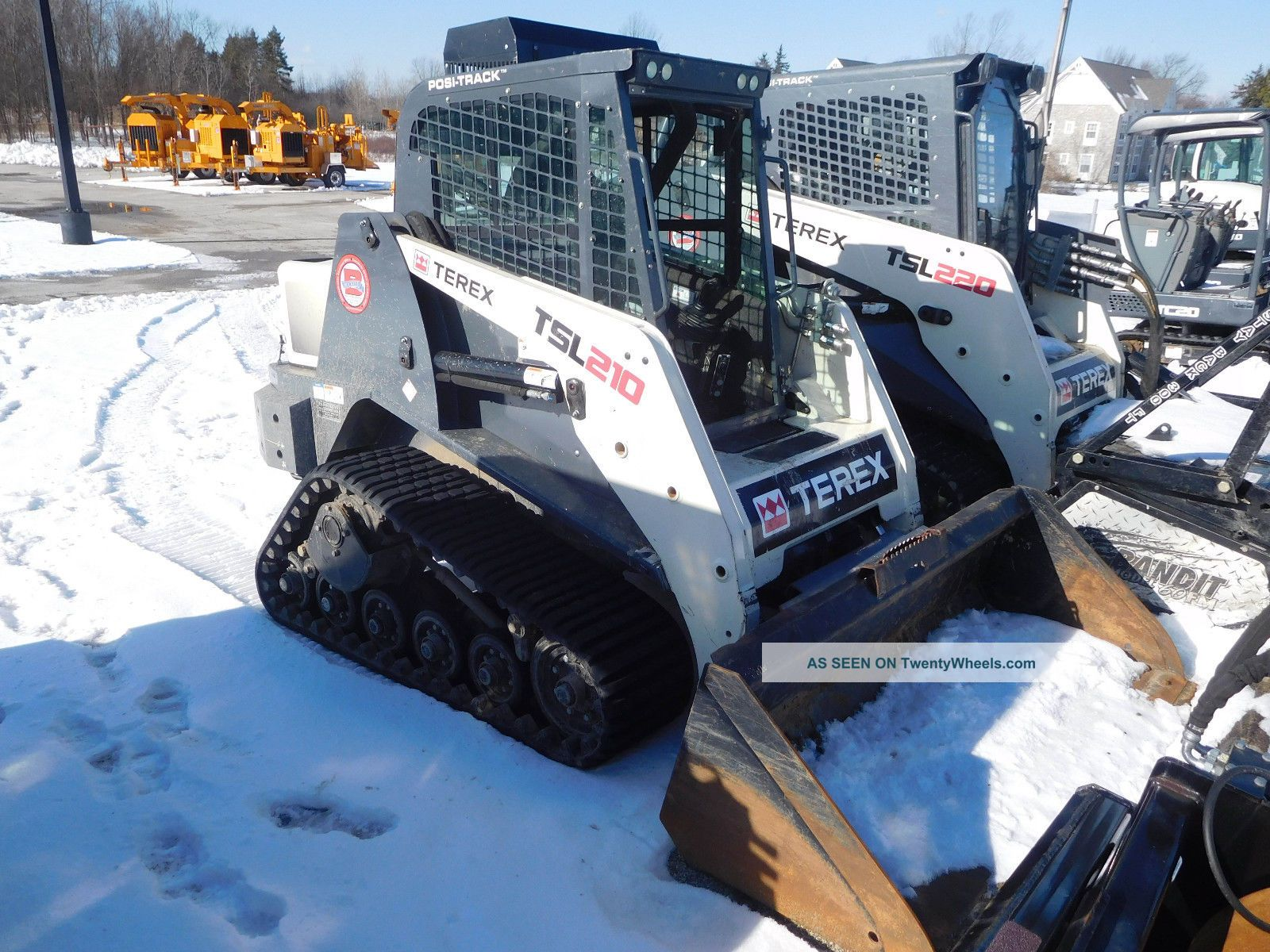 Terex Tsl210 Compact Mini Loader Crawler Dozers & Loaders photo