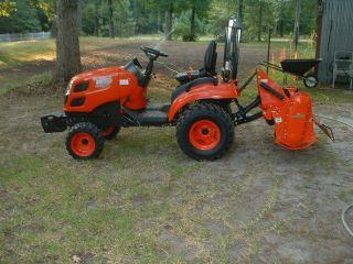 Tractor,  Quick Hitch,  3 - Pt.  Tiller,  Disc Hiller photo