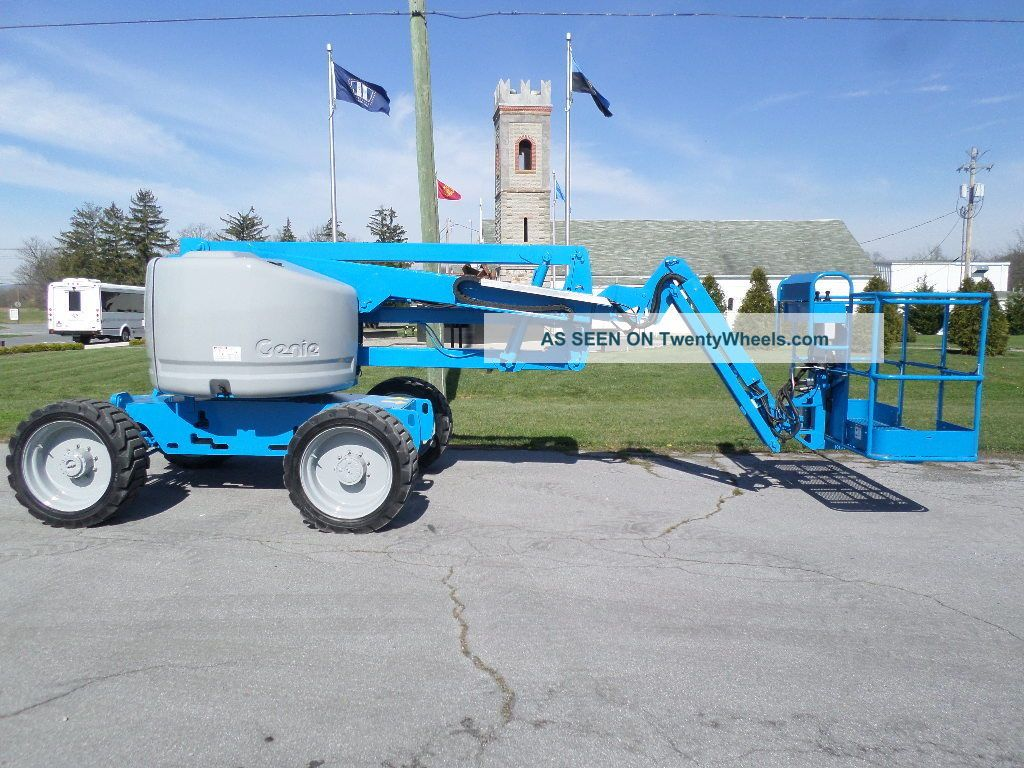 Genie Z45/25j Articulating Boom Lift Jib Manlift Z - Boom Aerial Knuckle Boomlift Scissor & Boom Lifts photo