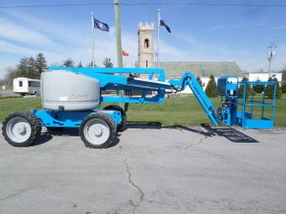 Genie Z45/25j Articulating Boom Lift Jib Manlift Z - Boom Aerial Knuckle Boomlift photo