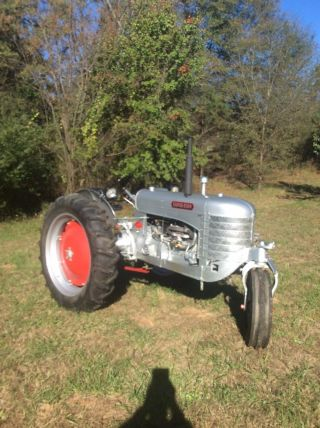 1949 Silverking Model 42 Antique Tractor photo