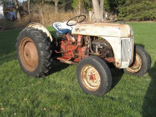 1952 8n Ford Tractor photo
