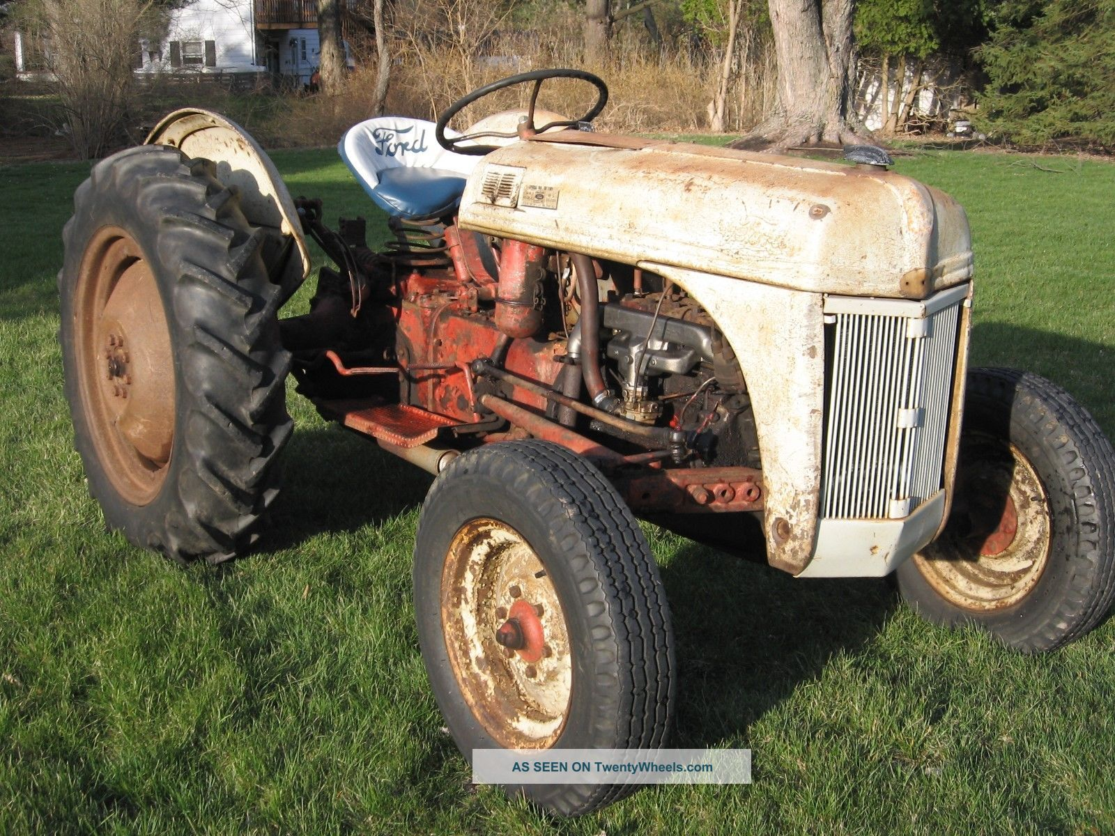 8n Ford Tractors : N ford tractor