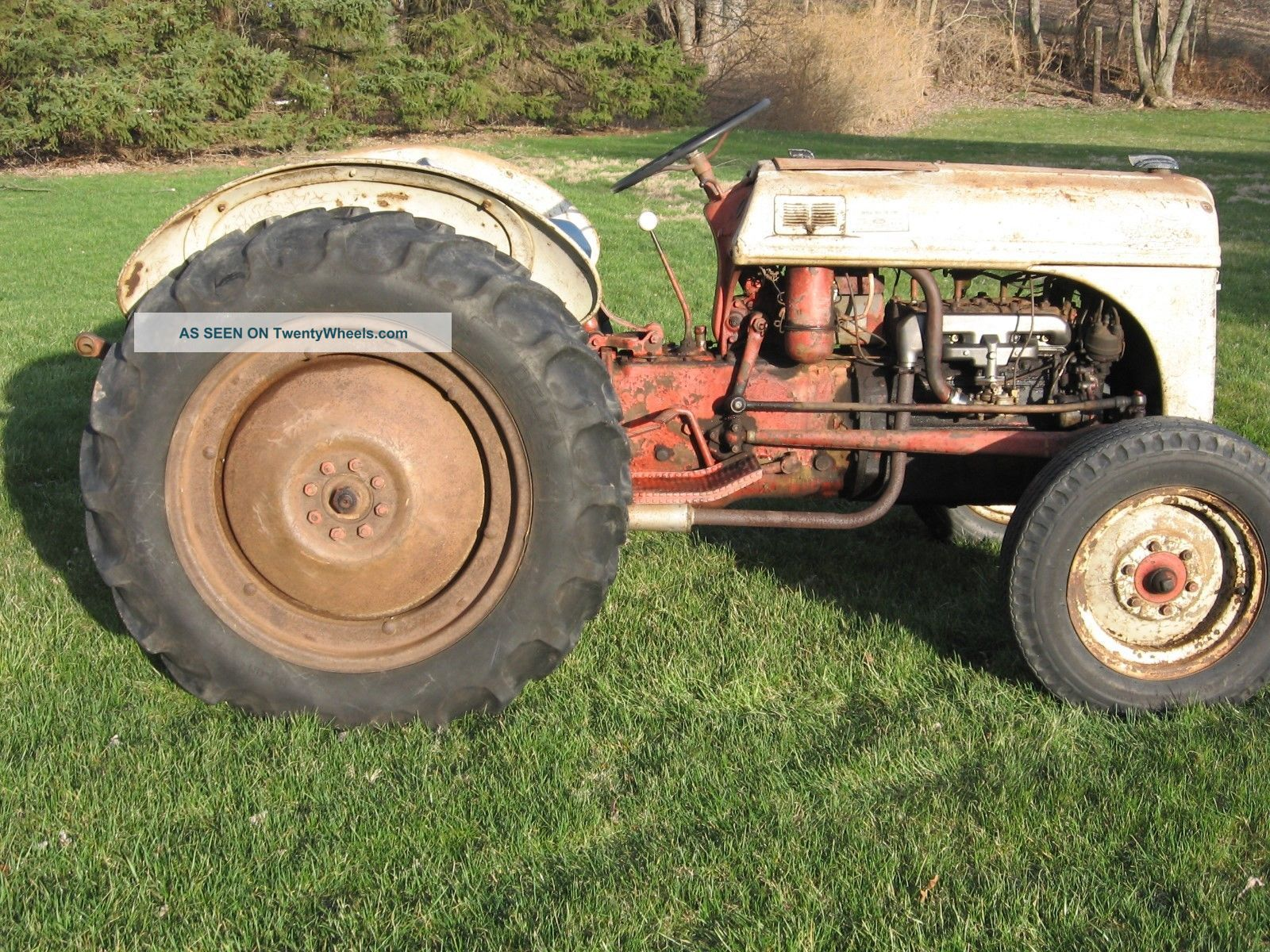8n Tractor Specifications : N ford tractor