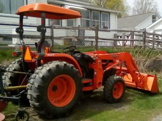 2005 Kabota Tractor L3830 Gst Loader And Bucket,  Low 810 Hours Pictures photo