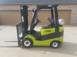 Clark Forklift C20 - Sc 4,  000lbs Gen2 Pneumatic Tires Only 200 Hrs photo