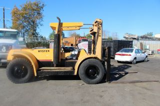 Hyster Forklift Gasoline Operated Unit Model H250e photo