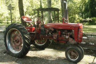1948 Farmall Model C Tractor photo