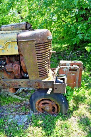 Farmall Farm International Harvester Tractor,  Model M Approx.  1952 Or 53 photo