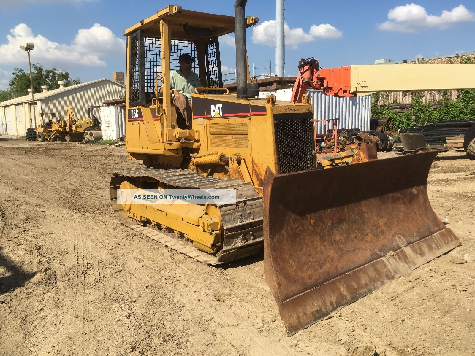 1997 Caterpillar D5c Series Iii Crawler Dozer 3859 Hrs