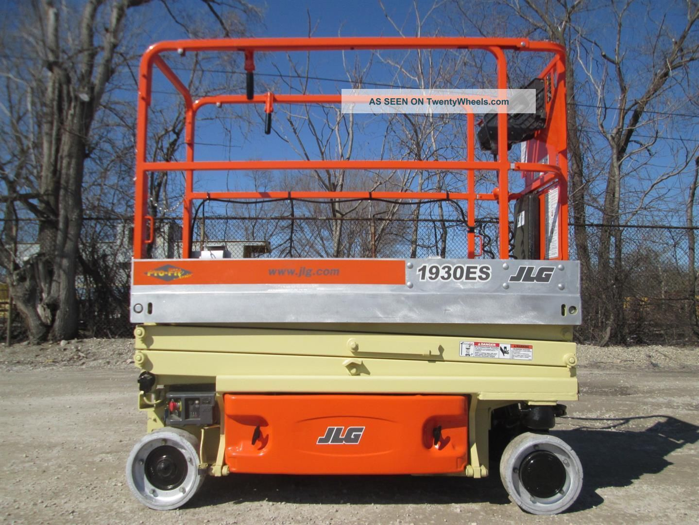 2007 Jlg 1930es Scissor Lift Manlift Boomlift Aerial Lift Platform Lift Jlg Scissor & Boom Lifts photo