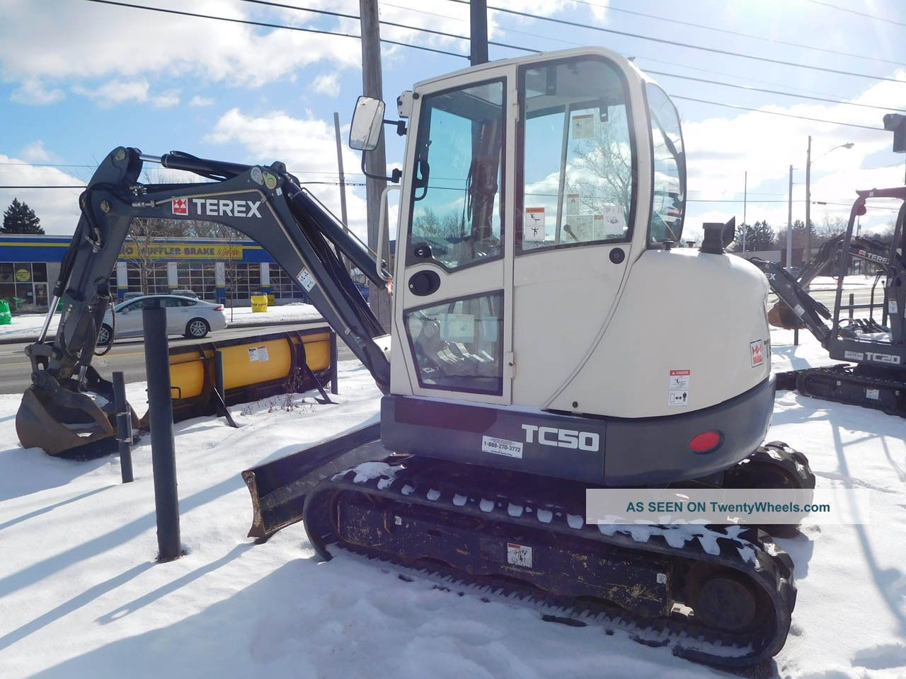 Terex Tc50 Mini Excavator Crawler Excavators photo