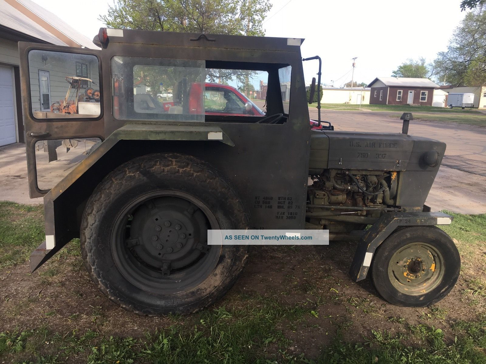 Ford Tractor Airplane : Ford tractor air force tug