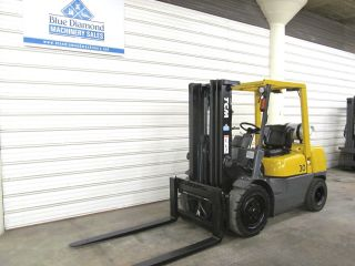 2001 ' Tcm Fhg30n5t 6,  000 Pneumatic Forklift,  Lp Gas Fuel,  H20, , photo