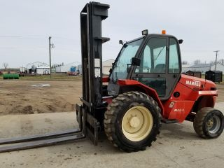 Rough Terrain Forklift 6400 Lbs.  - Manitou photo