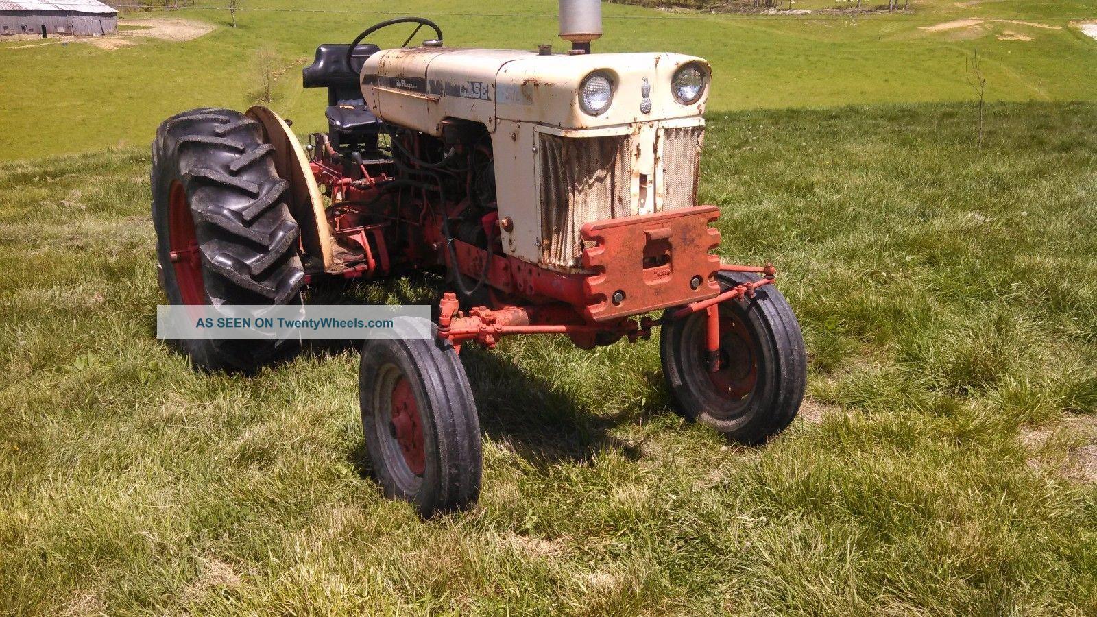 Case 530 Farm Tractor : S case triple range gasoline tractor