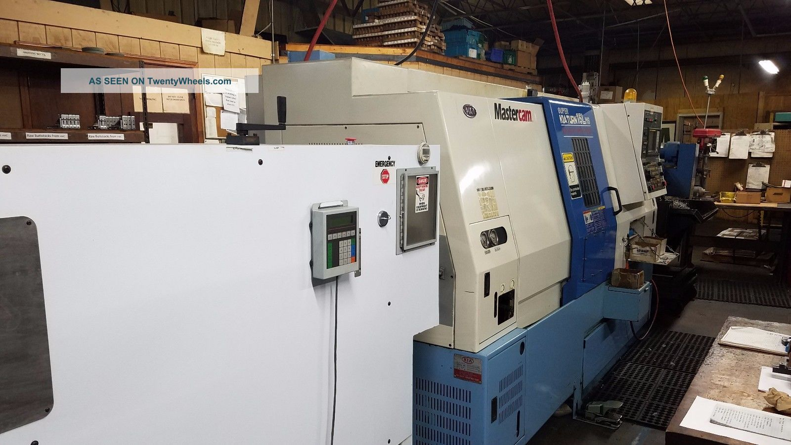 Kia Turn 15 Lms Cnc Lathe With Live Tooling,  Sub Spindle,  Parts,  Barfeeder Metalworking Lathes photo