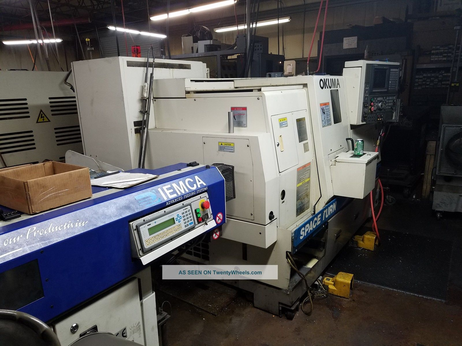 Okuma Lb200mw Cnc Lathe With Live Tooling,  Sub Spindle,  Iemca Bar (2 Avail) 2003 Metalworking Lathes photo