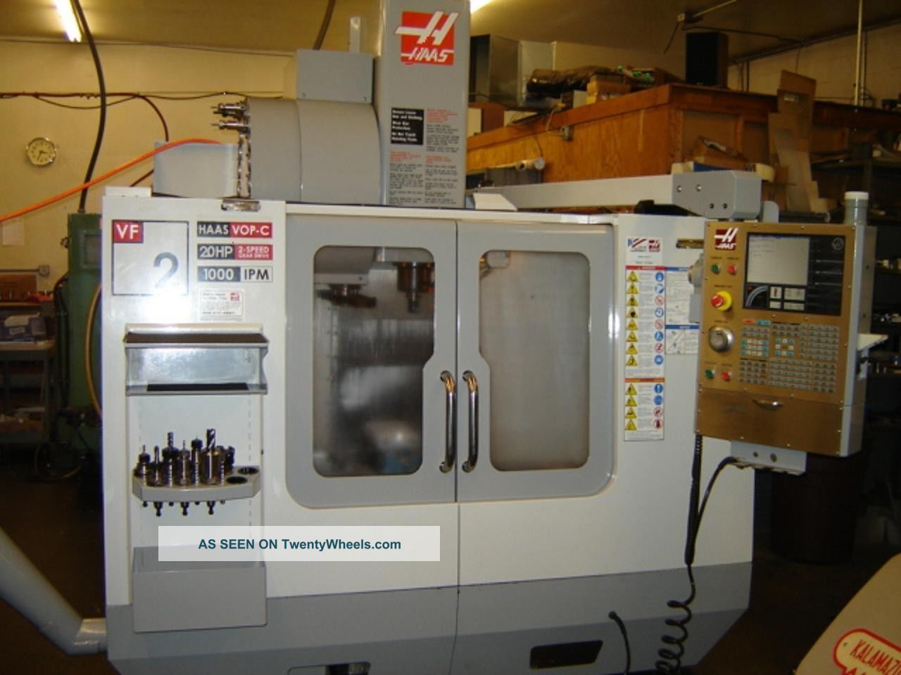 Haas Vf2 Vertical Machining Center (2007) Milling Machines photo