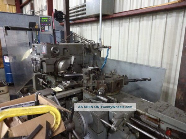 5 Warner & Swasey Square - Head Ram Turret Lathe - 28051 Metalworking Lathes photo