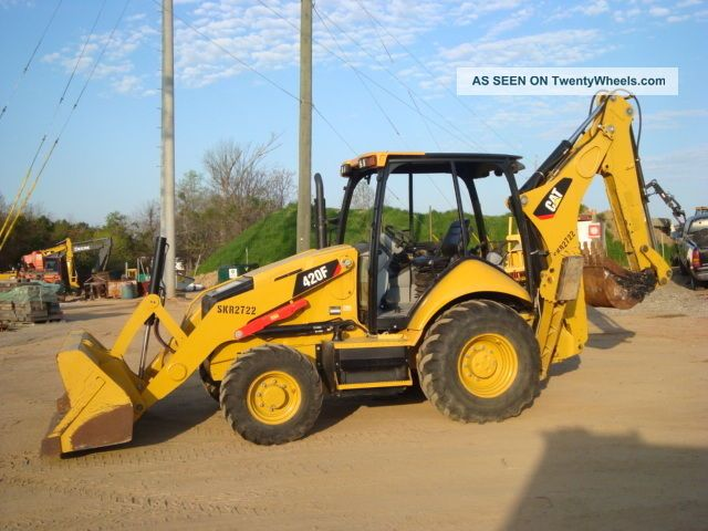 2014 Caterpillar 420f Loader Backhoe Backhoe Loaders photo