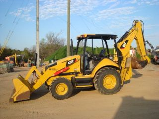 2014 Caterpillar 420f Loader Backhoe photo
