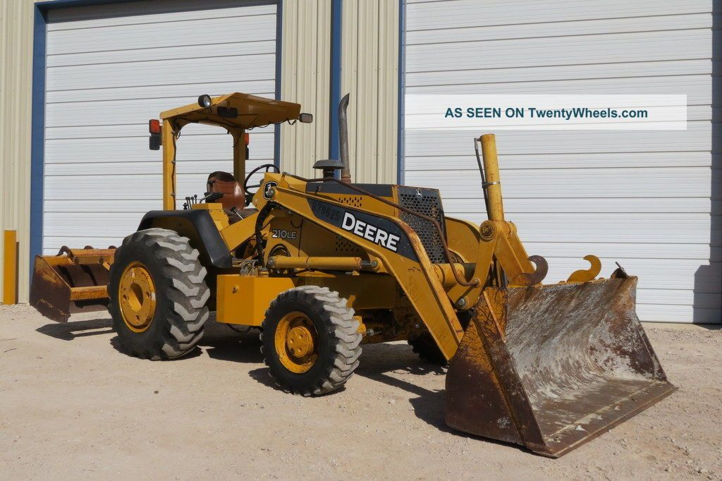 2006 John Deere 210le Skip Loader 4wd 4x4 Blade Ripper Landscape Wheel Loaders photo