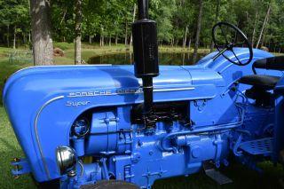 1960 Porsche Diesel Tractor Rare Classic photo
