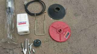 Lincoln Industrial 989 Grease Pump Kit Air Operated 25 - 50 Lb Bucket Pail,  50:1 photo