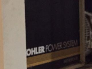 Kohler Generator 50kw photo