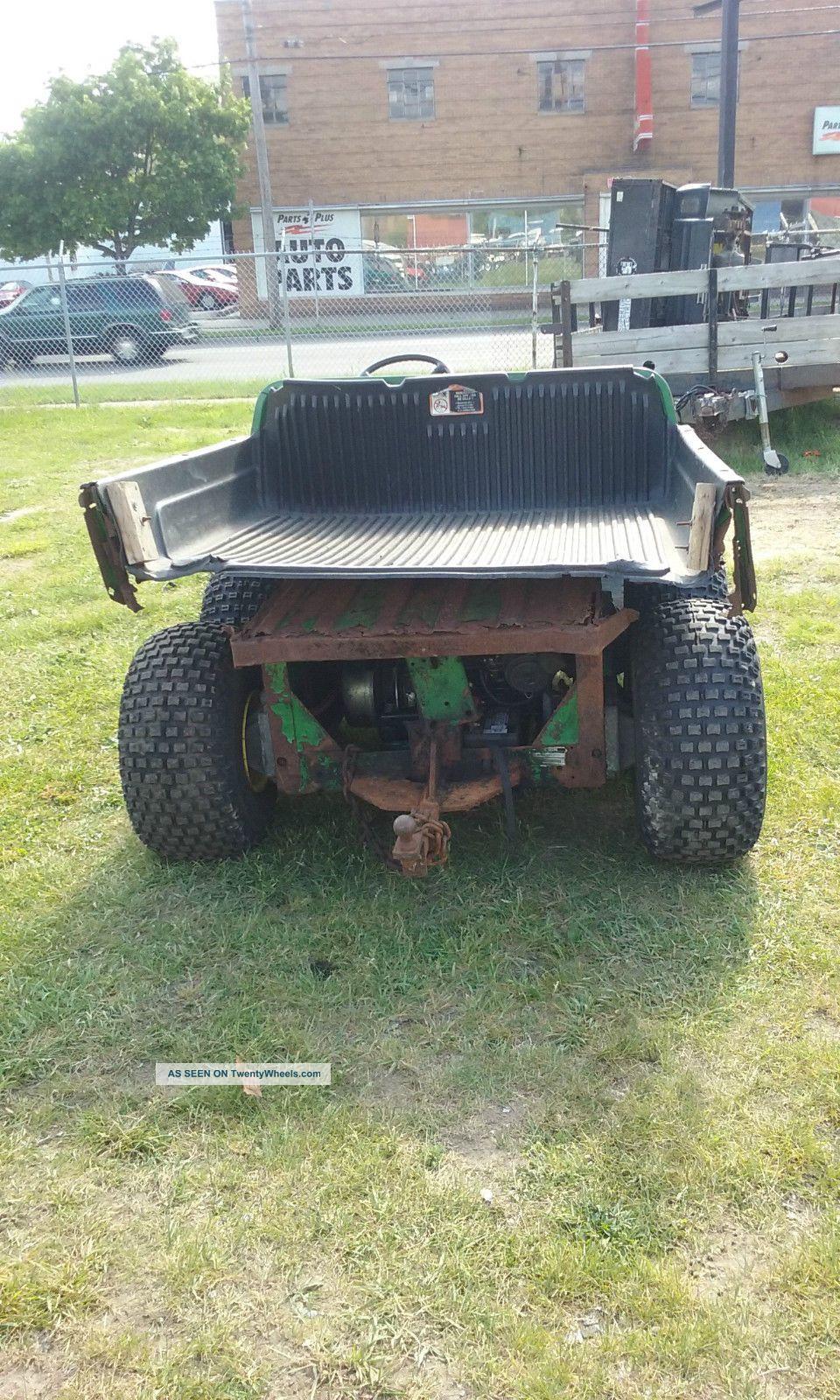 john deere gator diesel 6x4. Black Bedroom Furniture Sets. Home Design Ideas