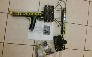 Shrinkfast 975 Heat Gun And One Rebuild Kit photo