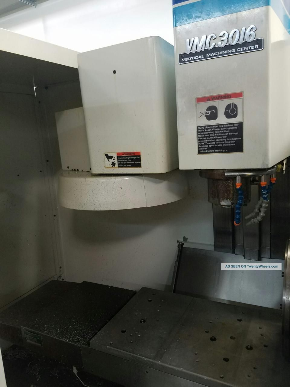 1995 Fadal Vmc 3016ht Cnc Vertical Machining Center Mill 4th Axis Ct40 20hp Milling Machines photo