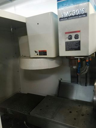 1995 Fadal Vmc 3016ht Cnc Vertical Machining Center Mill 4th Axis Ct40 20hp photo