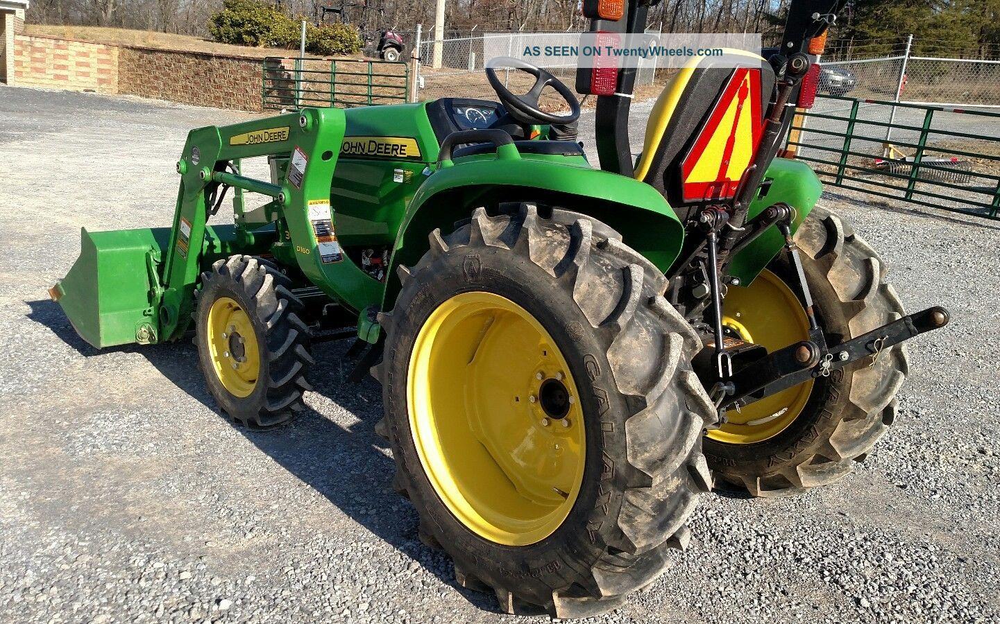 John Deere E Tractor X Loader Lgw