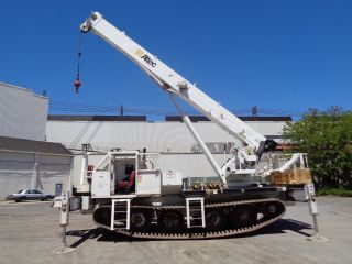 2007 Altec 26 Ton,  Hydraulic Rough Terrain Crane Boom Lift - 149 Ft Height photo