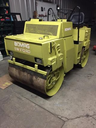 1986 Bomag Bw 100 Ad Engine Rebuilt photo