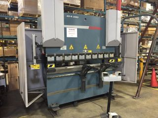 66 Ton Hydraulic Press Brake,  Cnc,  Durma Model Ad - R 2060,  81