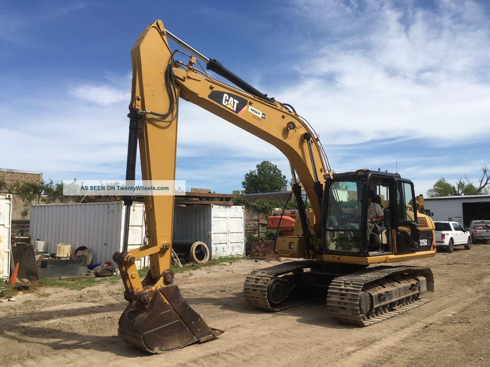 2007 Caterpillar Cat 315cl Excavator; Tx Machine; 3821 Hrs Excavators photo