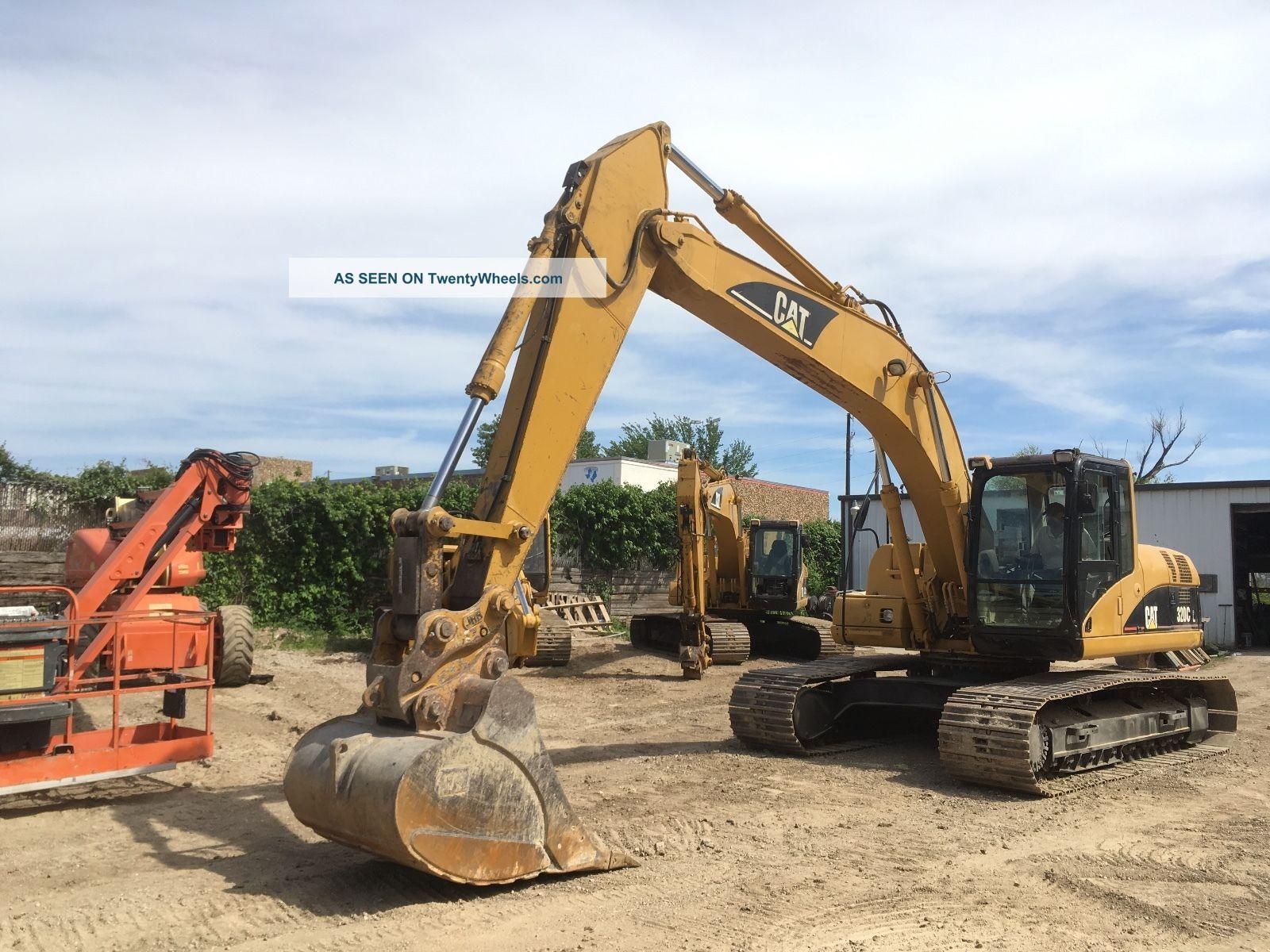 2006 Caterpillar Cat 320cl Excavator; Jrb Q/c; 6574 Hrs Excavators photo