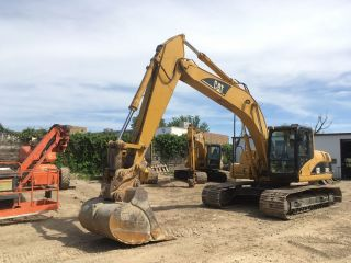 2006 Caterpillar Cat 320cl Excavator; Jrb Q/c; 6574 Hrs photo