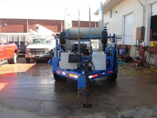 Larson Sh 10000 Hydraulic Cable Reel Trailer photo