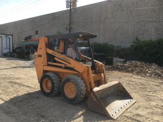 2000 Case 1840 Wheeled Loader Skidsteer; 3754 Hrs photo