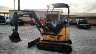 2011 John Deere 27d Mini Excavator Trackhoe photo