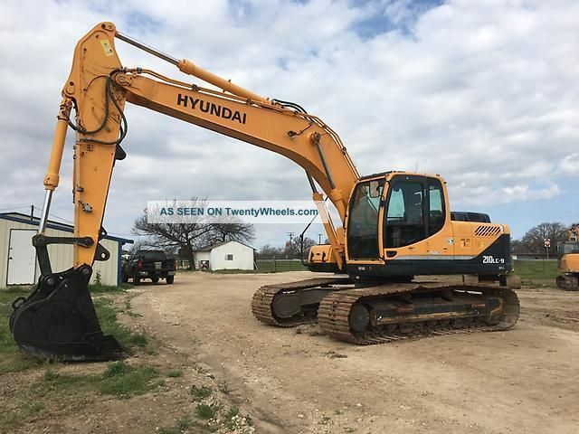 2013 Hyundai Robex 210lc - 9 Excavator Excavators photo